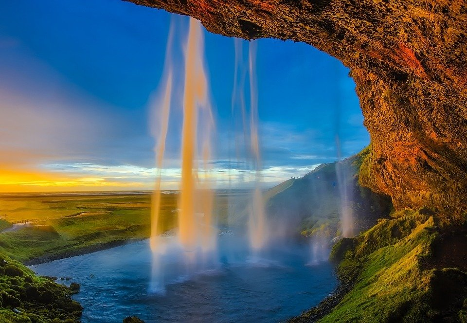 Iceland most beauty hides In Its Waterfalls