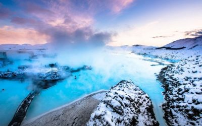 Famous Natural Geothermal Baths in Iceland